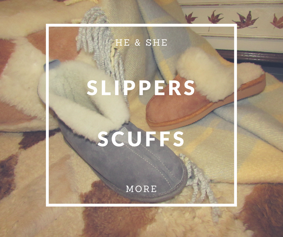 Slippers, Scuffs